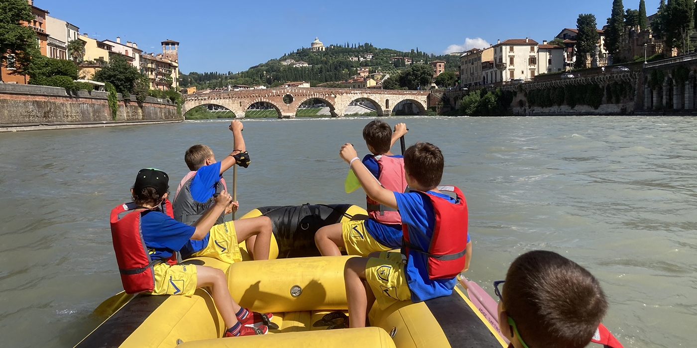 Progetto Adige Rafting Verona