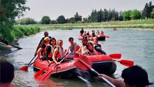 Verona Rafting prima del centro