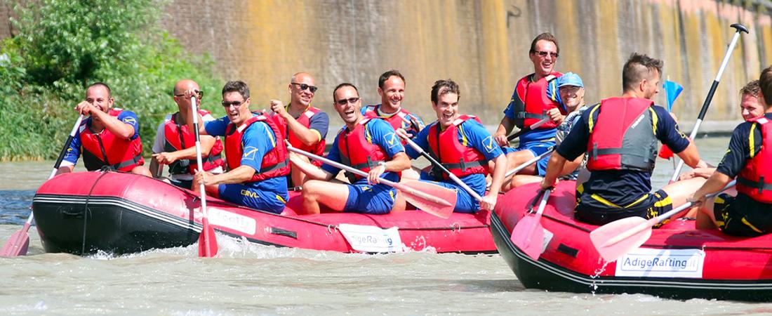 Team-Building-Adige-Rafting