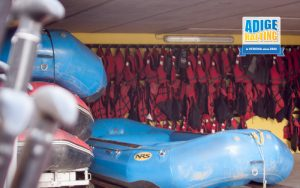 Adige Rafting Verona - materiale nautico